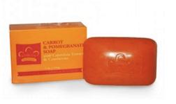 CARROT & POMEGRANATE BAR SOAP