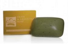OLIVE OIL & GREEN TEA BAR SOAP